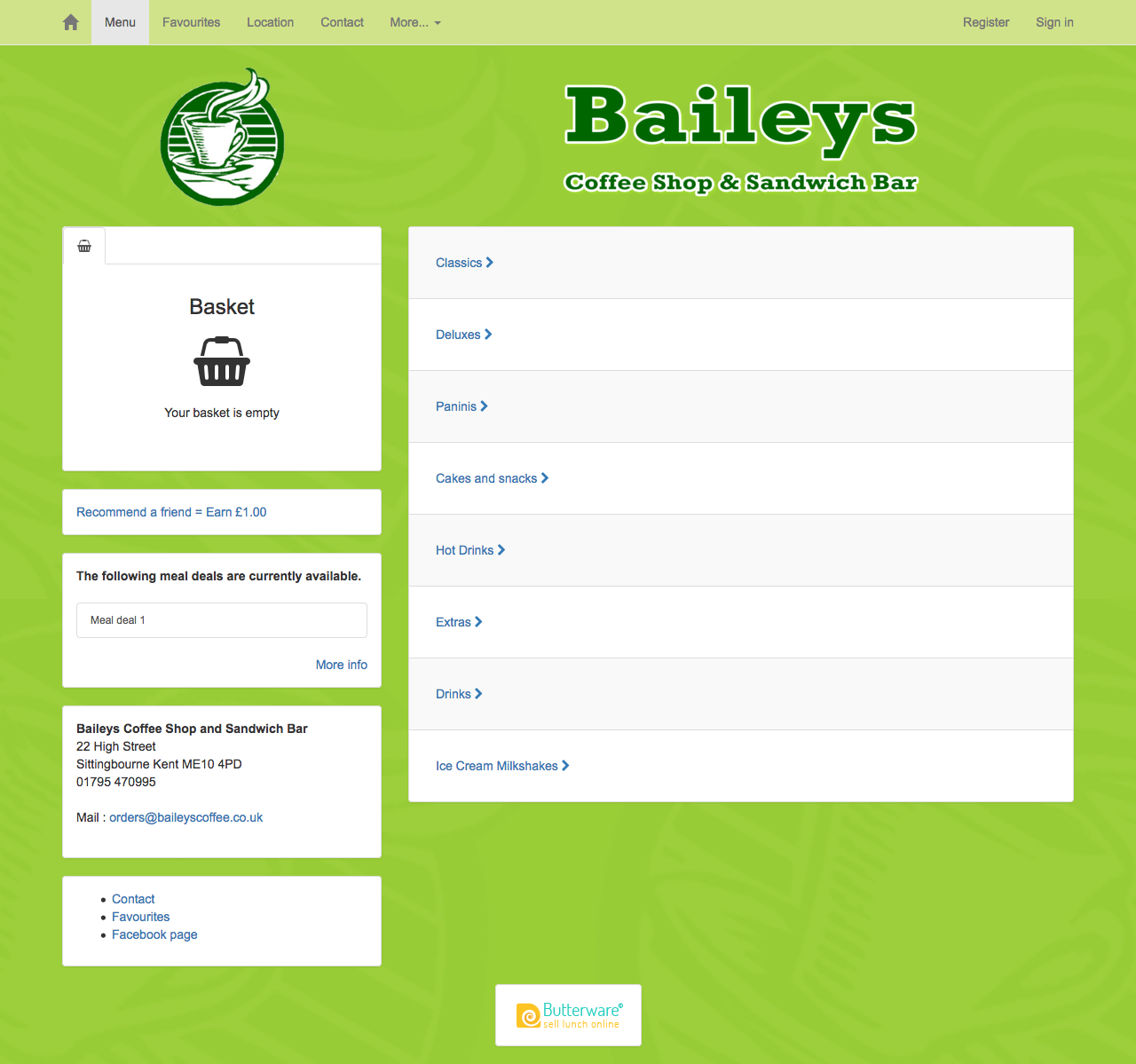 Featured site : Baileys